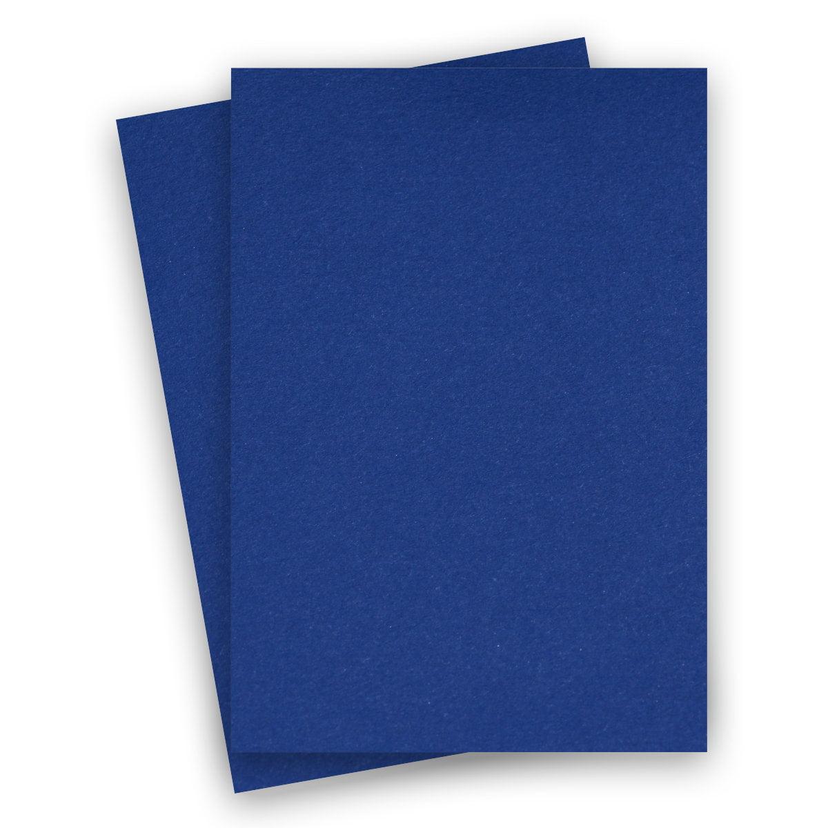 basics blue 85x14 legal paper 80c cardstock  100 pk