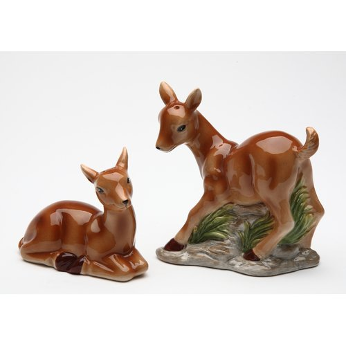 Cosmos Gifts Deer Salt and Pepper Set