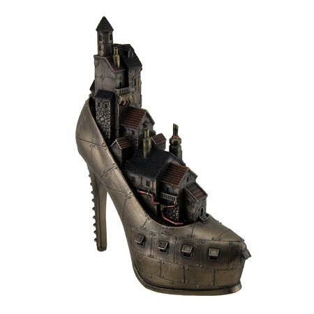 Stiletto Hill Ironopolis Gothic Steampunk City Slipper Statue](Steampunk City)