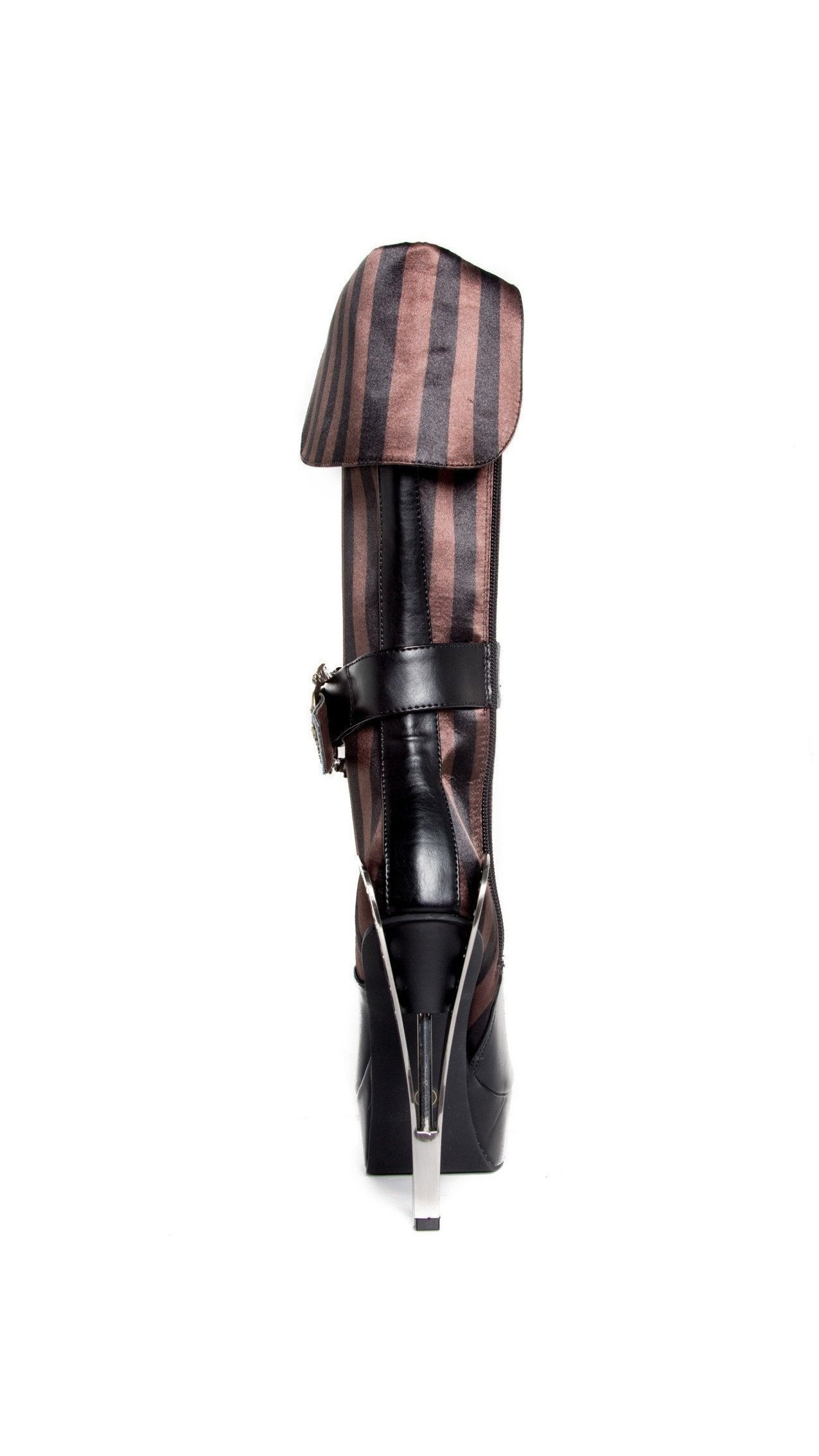 Hades high Shoes H-ETHEREAL Beautiful Victorian knee high Hades boots 7 / Black 569249