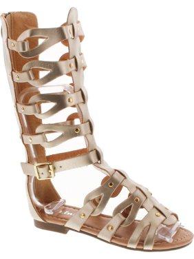8fda0b69cb8c Product Image Link Atta 07K Little Girls Strappy Gladiator Comfort Flat  Sandals