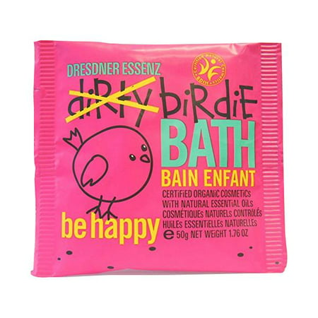Pre de Provence Dresdner Essenz Dirty Birdie Bath Packet 50g-Be Happy (Rose & Vanilla Oils) Created Just For Kids Certified Organic