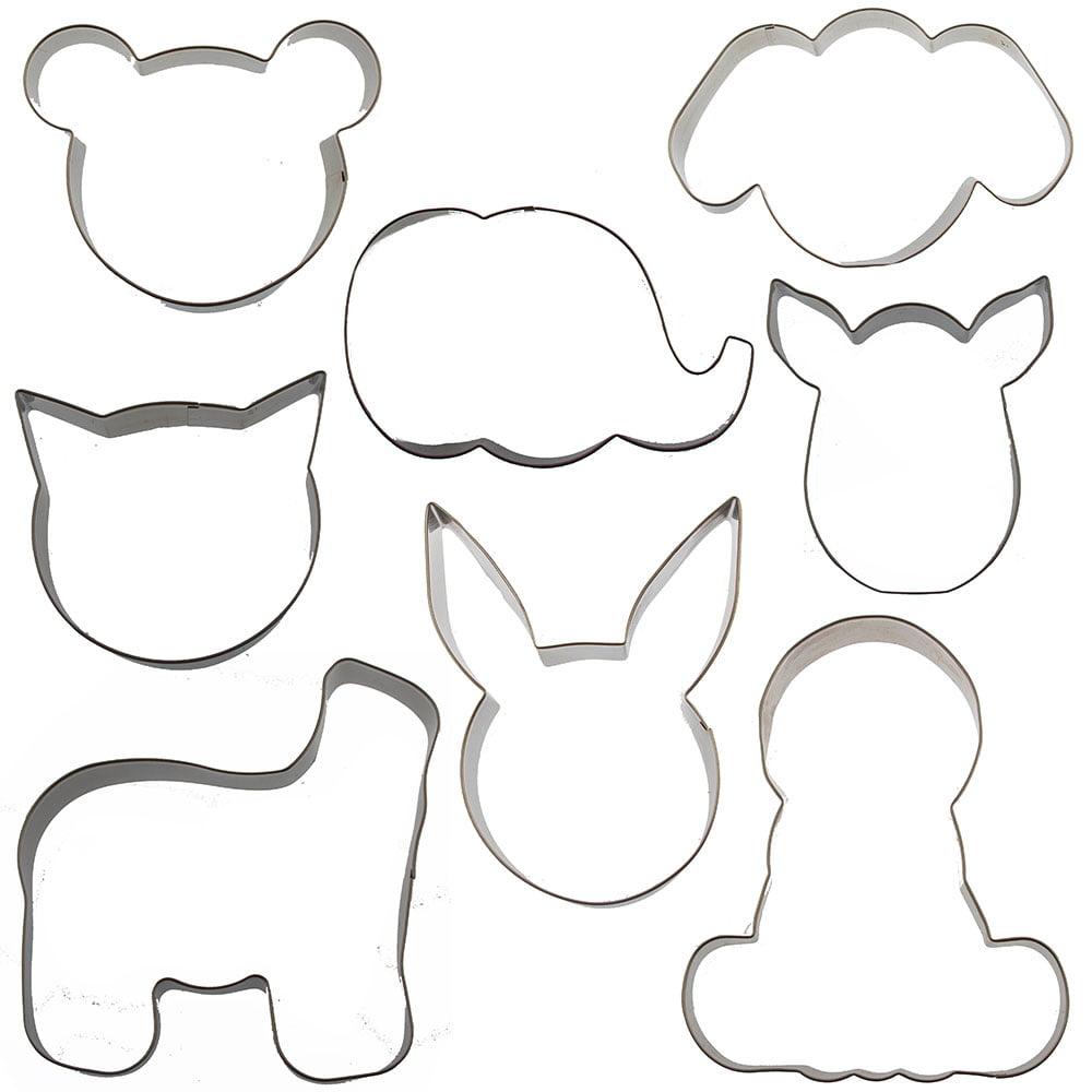Mix /& Match Animals Cookie Cutters by Celebrate It\u2122 6 set