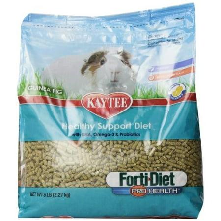 Kaytee Forti Diet Guinea Pig - Kaytee Forti-Diet Pro Health Guinea Pig Food, 5 Lb