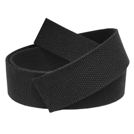 Replacement 1.5 Wide Military Canvas Web Belt with Multicolor Tip Pack Small