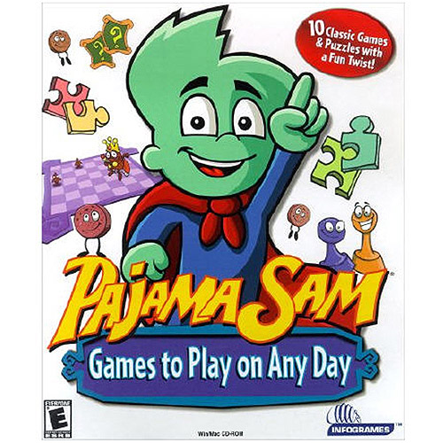 Tommo 58411029 Pajama Sam Games to Play on Any Day (PC/MAC) (Digital Code)