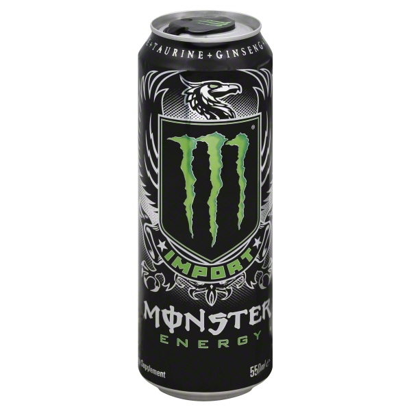 Monster Beverage Monster  Energy Drink, 18.6 oz