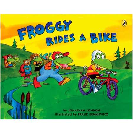 Froggy Rides a Bike](Froggy Halloween 2)