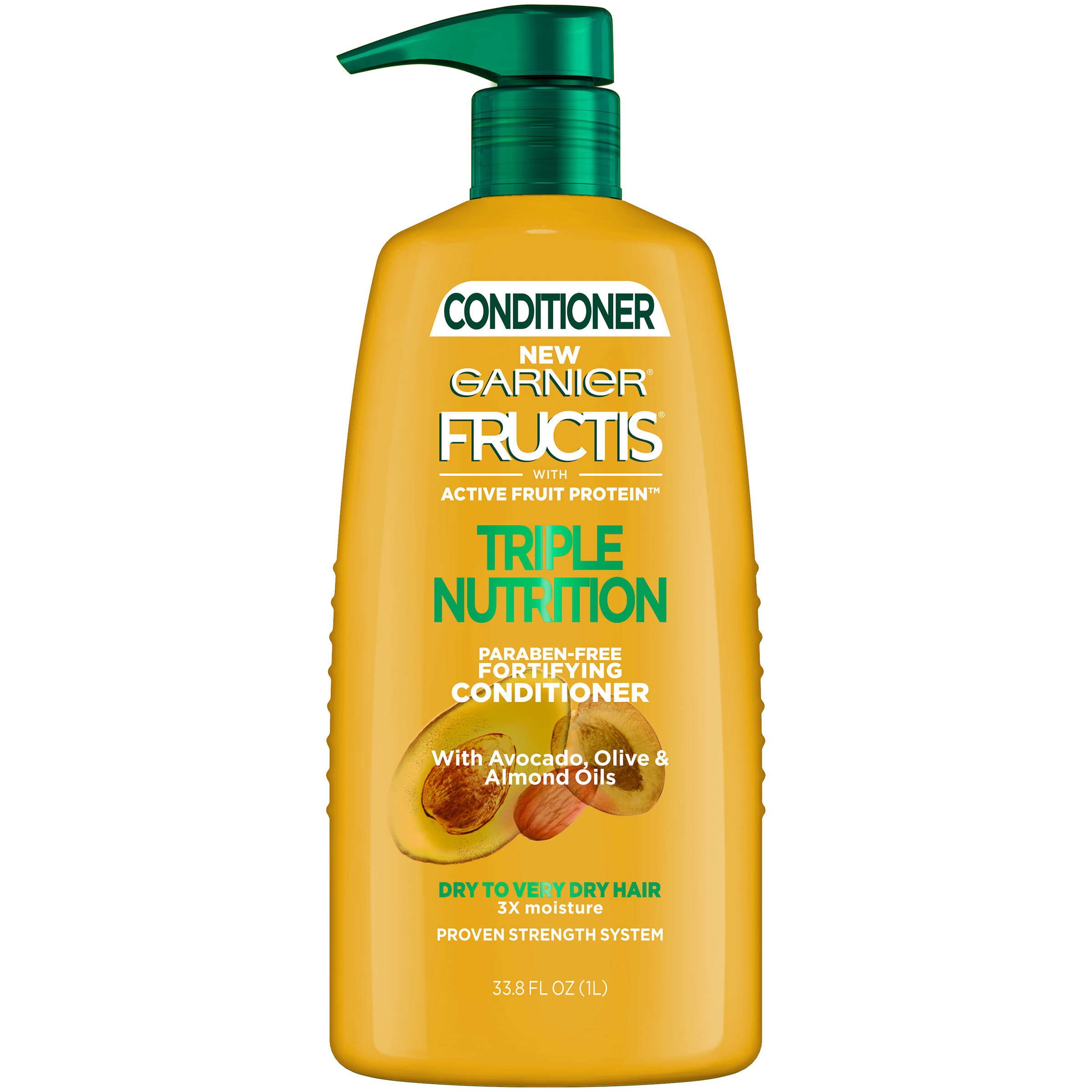 Garnier Fructis Triple Nutrition Conditioner 33.8 FL OZ