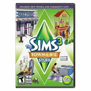 Sims 3 Town Life Stuff Expansion Pack (PC/Mac) (Digital Code)