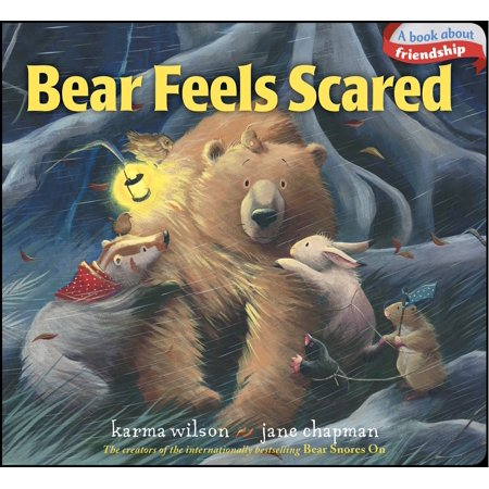 Bear Feels Scared (Board Book) (The Hairy Scare Of The Devil Bear)