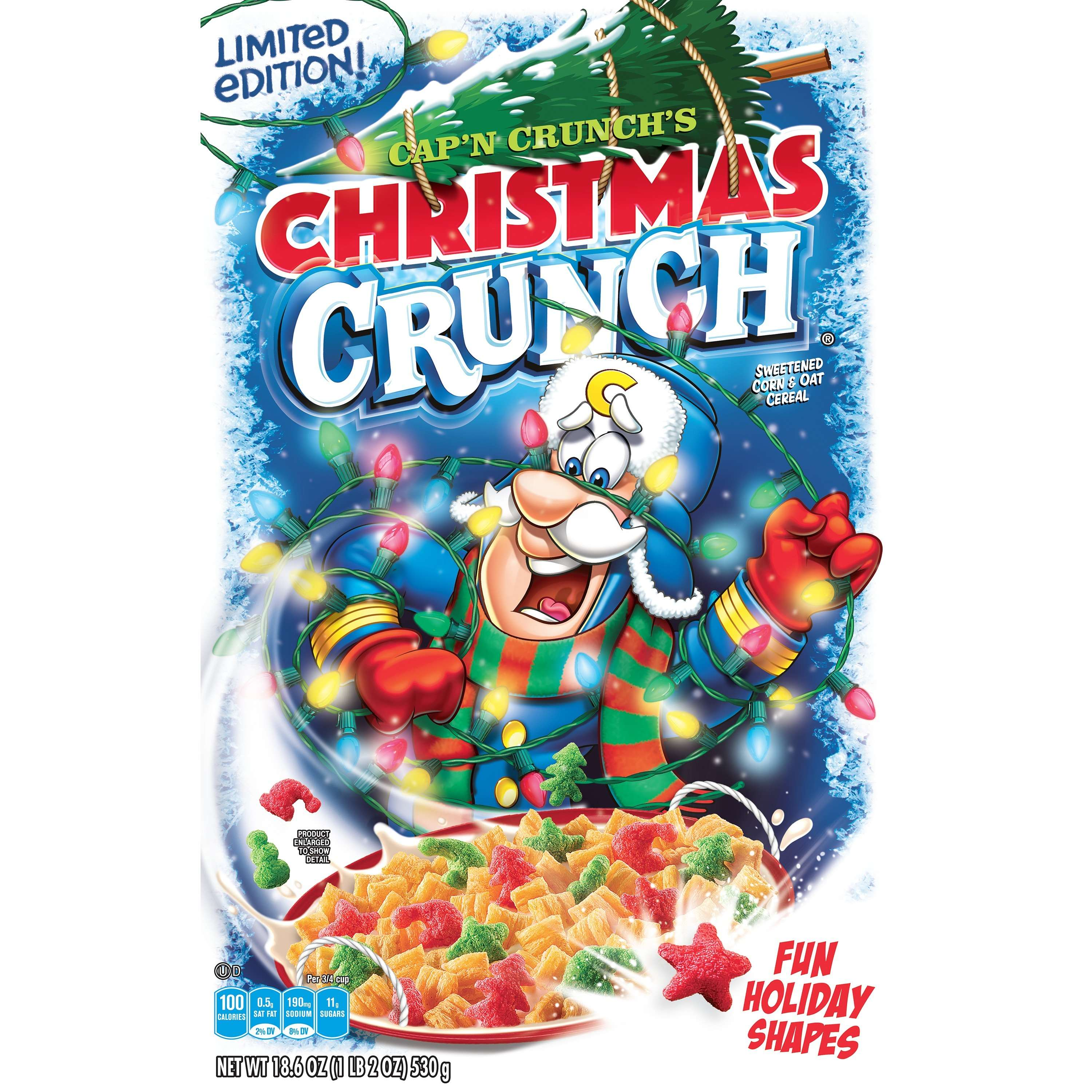 Cap'n Crunch's Christmas Crunch Cereal, 18.6 oz