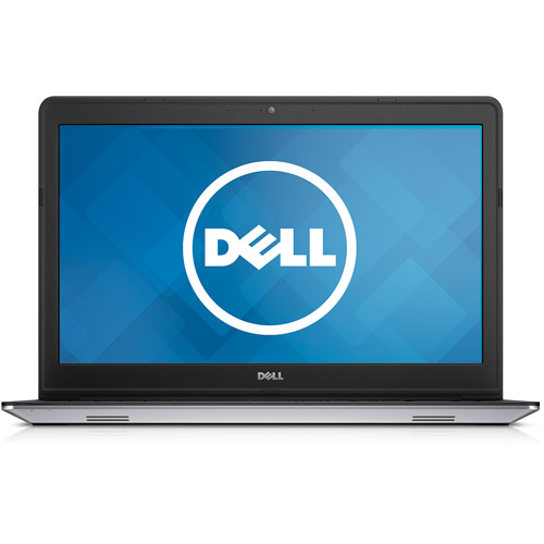 "Dell Silver 15.6"" Inspiron 15 (5545) Laptop PC with AMD A10-7300 Processor, 8GB Memory, 1TB Hard Drive and Windows 8.1 (Eligible for Free Windows 10 Upgrade)"