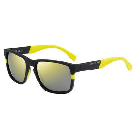 Hugo Boss BHB 0916 Sunglasses 01XE Matte (Hugo Boss Wayfarer Sunglasses)
