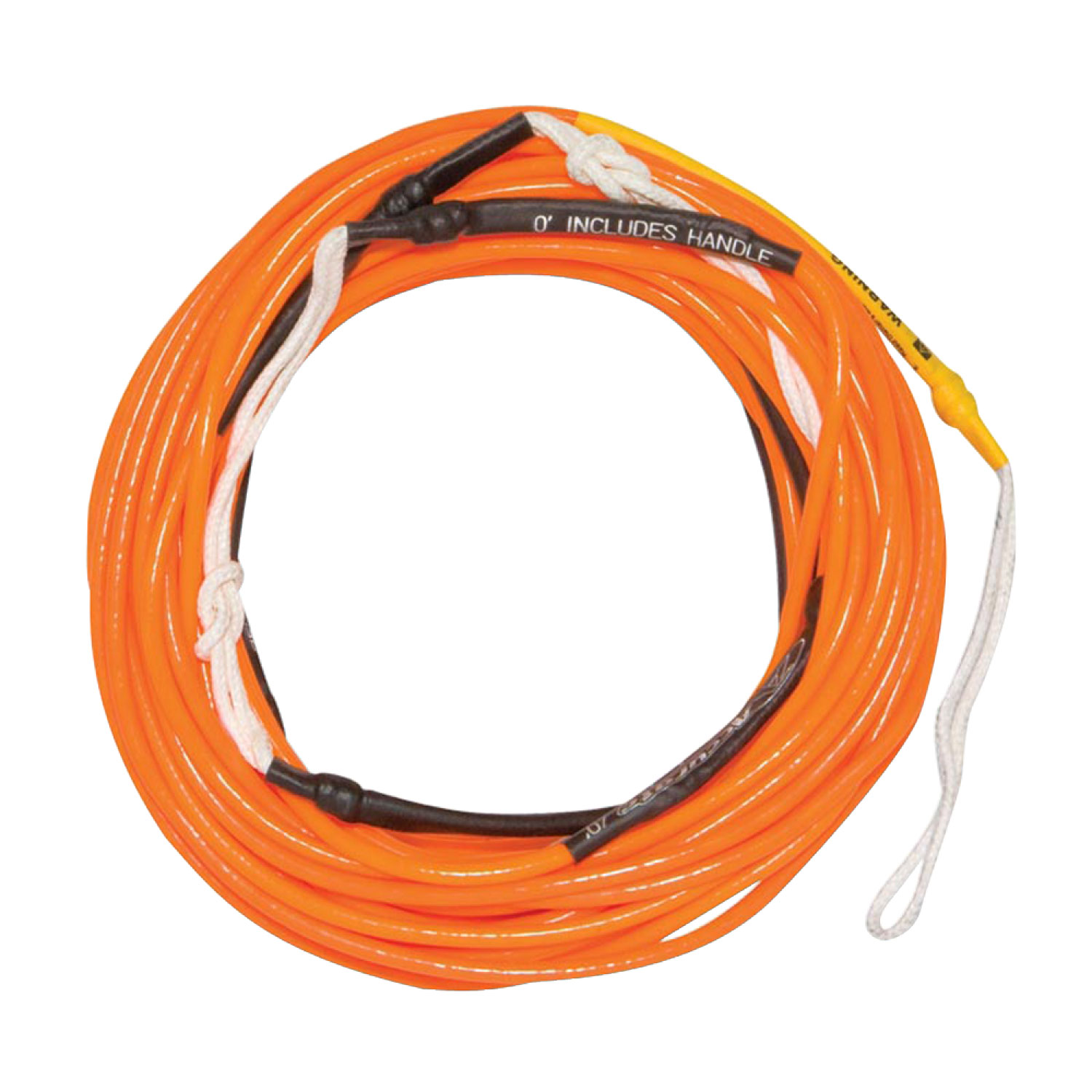 Hyperlite 2018 70 Ft Silicone X-Line (Neon Orange) Wakeboard Rope by