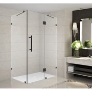 Aston Avalux 36'' x 30'' x 72'' Completely Frameless Hinged Shower Enclosure