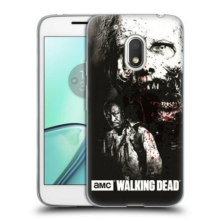 OFFICIAL AMC THE WALKING DEAD GORE SOFT GEL CASE FOR MOTOROLA PHONES](Blood Gore)