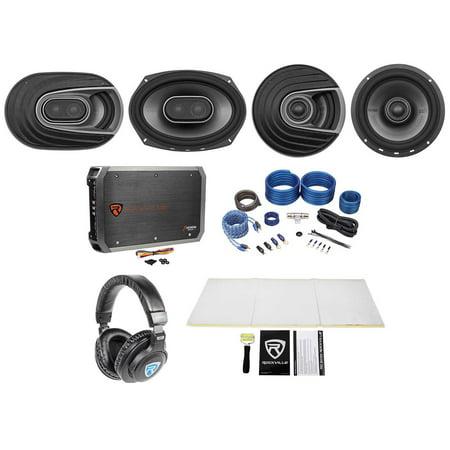 2 polk audio mm692 6x9 mm652 6 5 car speakers amp wire. Black Bedroom Furniture Sets. Home Design Ideas
