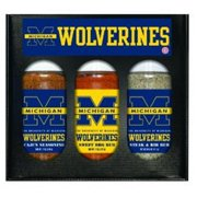 Hot Sauce Harrys 5710 MICHIGAN Wolverines Mini Grilling Set - 5oz