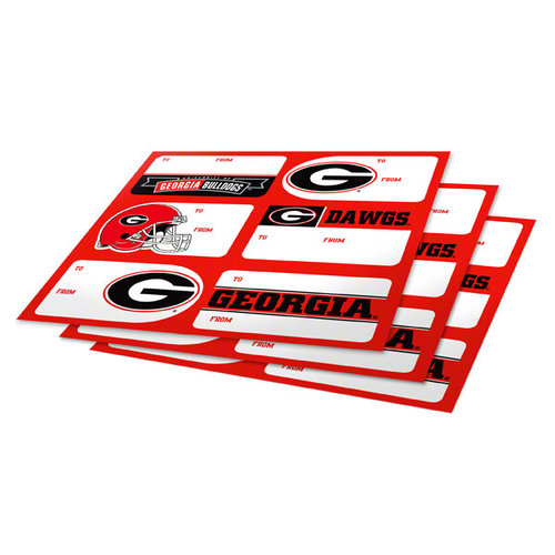 NCAA - Georgia Bulldogs Gift Stickers