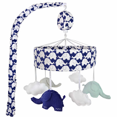 Just Born Classic Collection Elephant Musical Mobile by Just Born