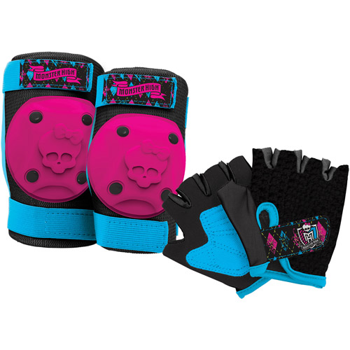 Bell Monster High Pads and Gloves