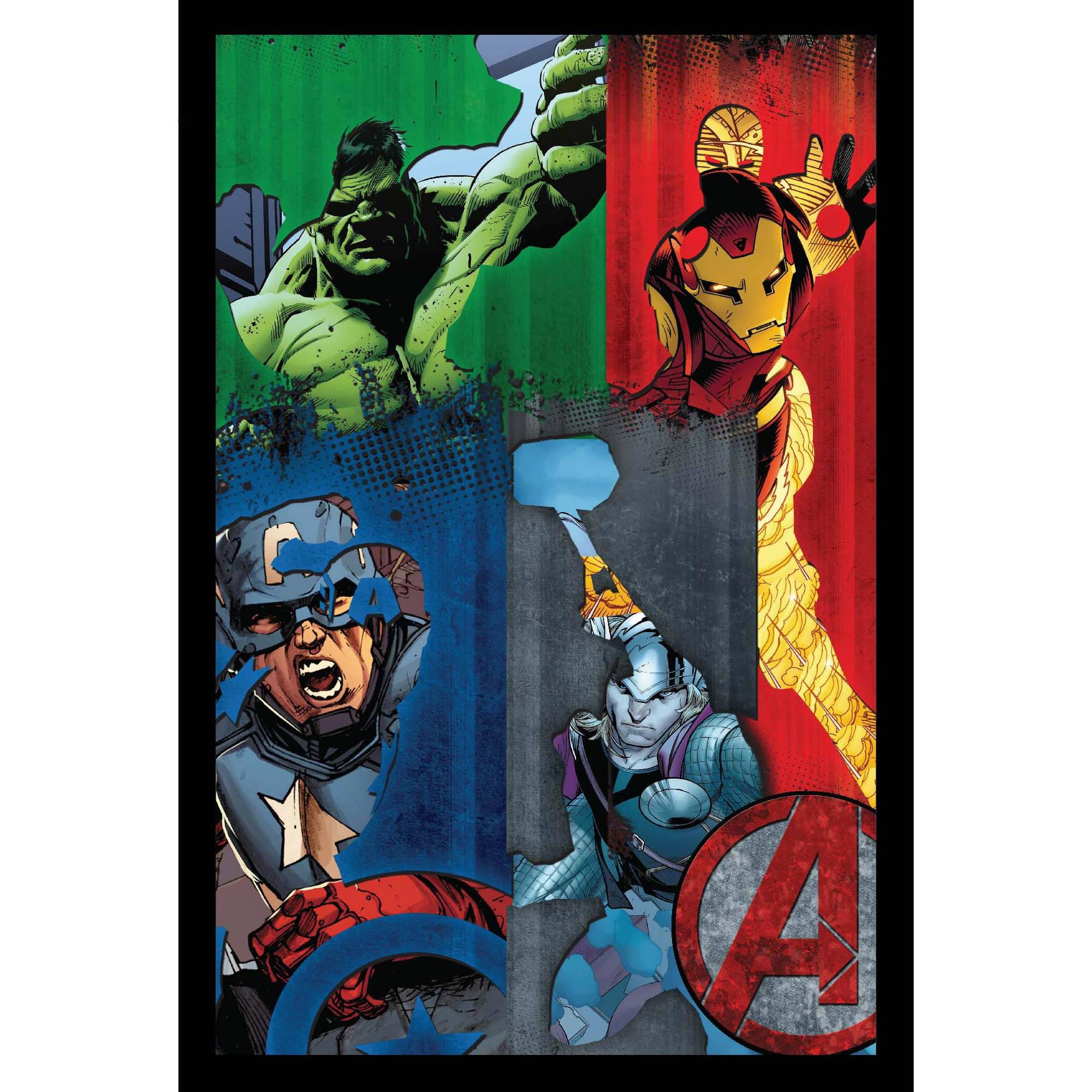Marvel Avengers Comic Framed 3D Wall Artwork by