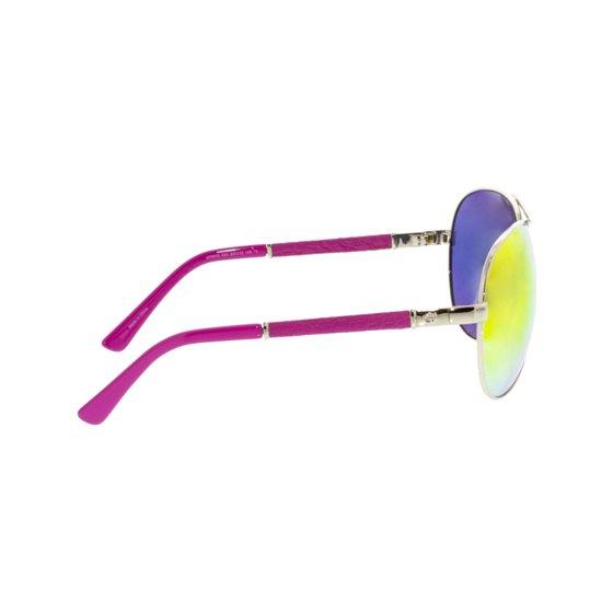 b3aa01237 GUESS - Guess Women's Mirrored GF6015-32C-63 Pink Aviator Sunglasses ...