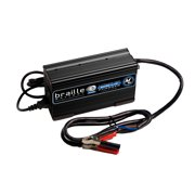 BRAILLE AUTO BATTERY 25 amp 12V Lithium Battery Charger P/N 12325L
