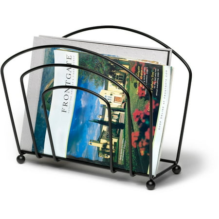 Spectrum Olympus Magazine Rack  Black