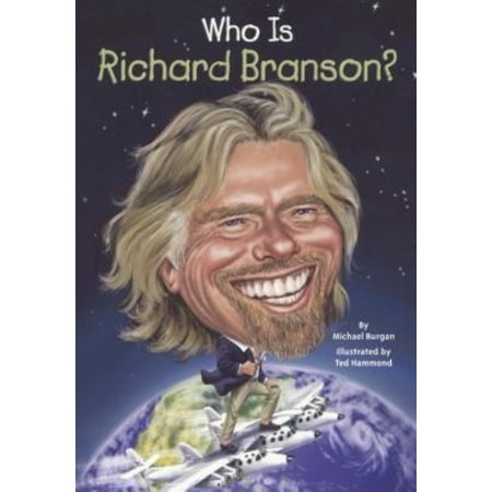 Who Is Richard Branson   Bound For Schools   Libraries