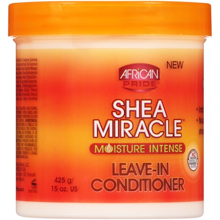 African Pride Hair Care - (2 Pack) African Pride Shea Miracle Moisture Intense Leave-In Conditioner 15 oz. Jar