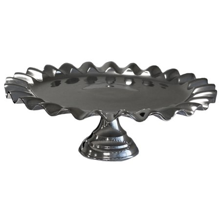 "Urban Designs Party Essentials 18"" Aluminum Cake Stand"