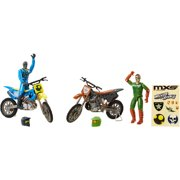 Adventure Wheels MXS Wicked Rivals 2-Pack, Series 4, Robot Vs. Soldier