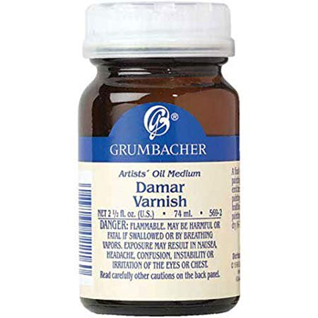 Grumbacher - Damar Varnish - 2 oz. (Canadian Label)