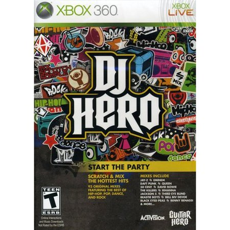 Dj Production Console (DJ Hero (sw), Activision Blizzard, XBOX 360,)
