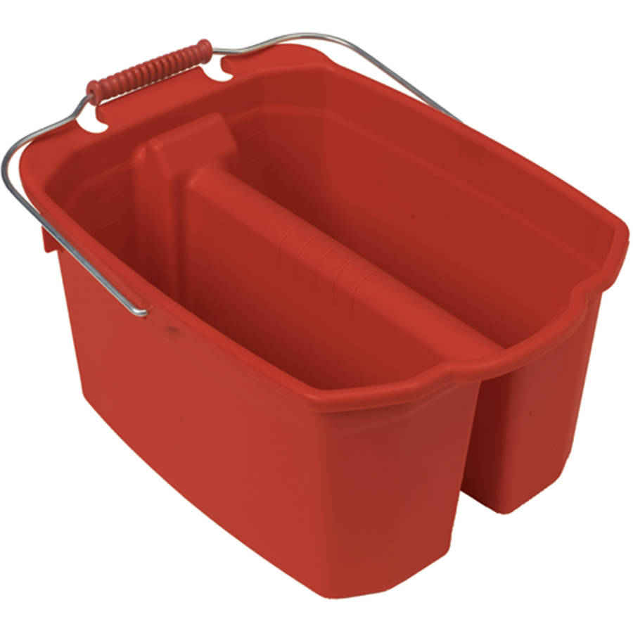 Harper 14 Quart Wash/Rinse Bucket, Red