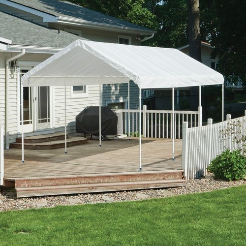 Max AP 10' x 20' White All Purpose Canopy
