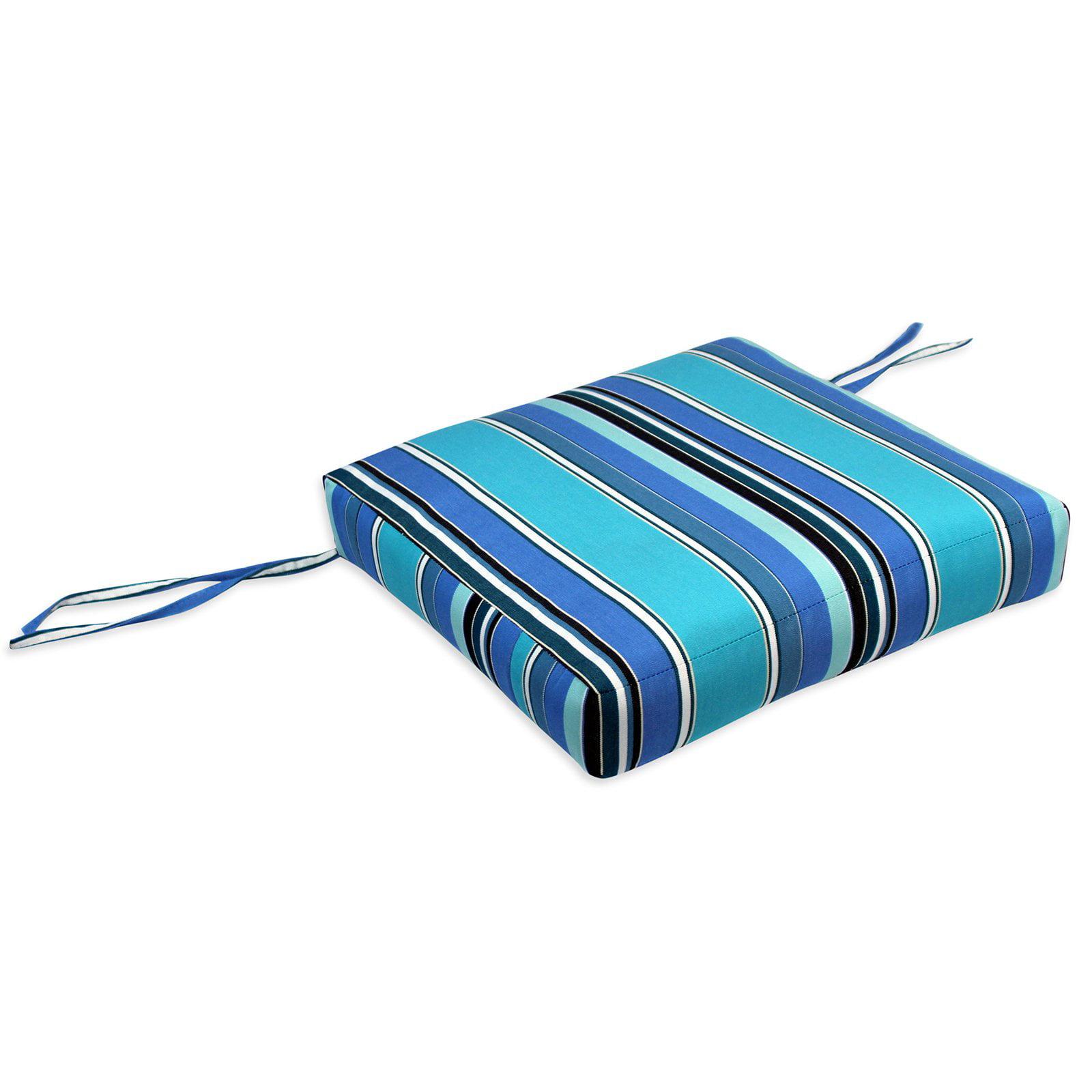 Comfort Classics 18 x 18 in. Sunbrella Boxed Style Seat Cushion ...