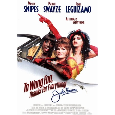 To Wong Foo, Thanks for Everything, Julie Newmar (1995) 11x17 Movie Poster](Foo Fighters Halloween Poster)