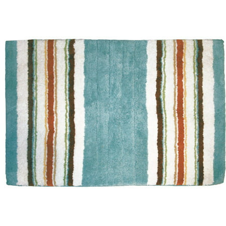 Better homes and gardens classic stripe bath rug - Better homes and gardens bathroom rugs ...