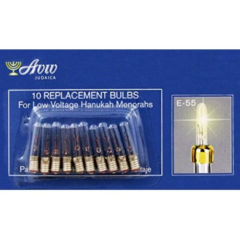Low Voltage Replacement Bulbs for Low Voltage Hanukah Menorah ()