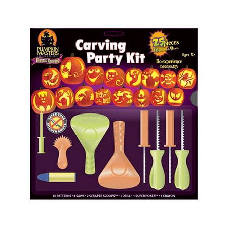 Super Fun Halloween Crafts (Fun Express - Pumpkin Carving Party Kit for Halloween - Craft Supplies - Bulk Craft Accessories - Misc Bulk Craft Accessories - Halloween - 1)