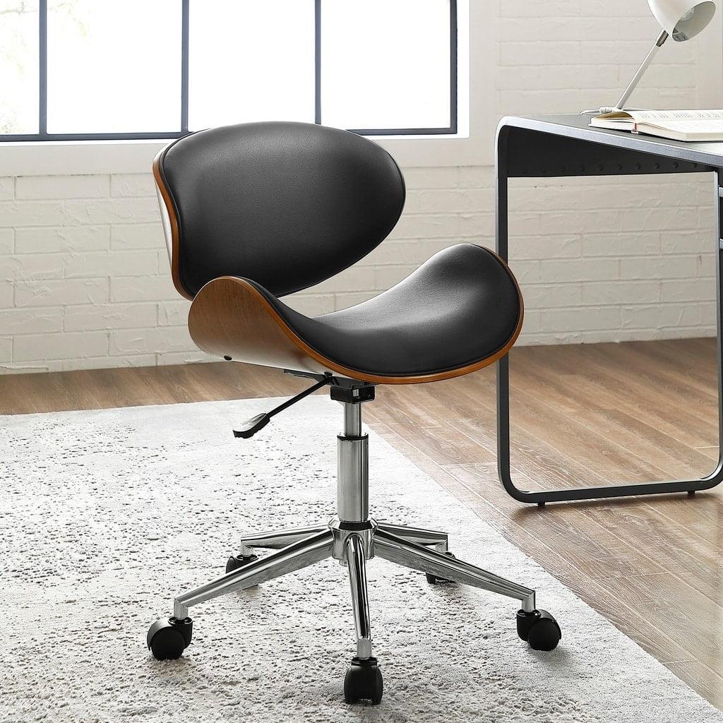 Corvus Madonna Mid Century Adjustable Office Chair By Walmart Com Walmart Com