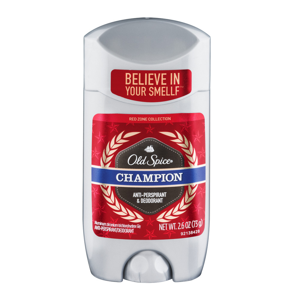 Old Spice Red Zone Champion Antiperspirant/Deodorant, 2.6 oz