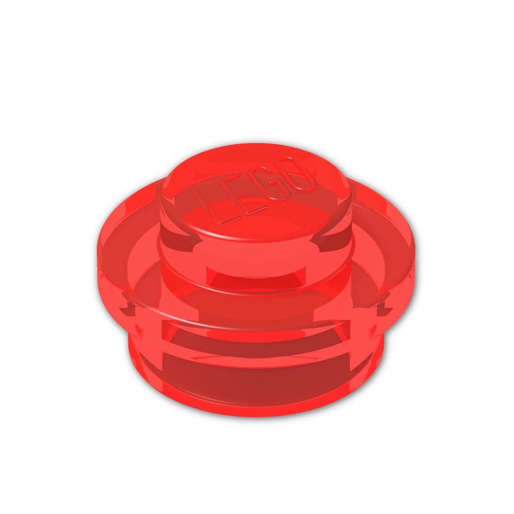 NEW 1 x 1 BRIGHT PINK  ROUND STRAIGHT PLATE x 15 PART 4073