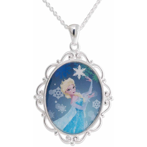 GRAPHICS /& MORE Frosty The Snowman Snow Days 1 Pendant with Sterling Silver Plated Chain