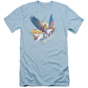 She Ra And Swiftwind Mens Slim Fit Shirt