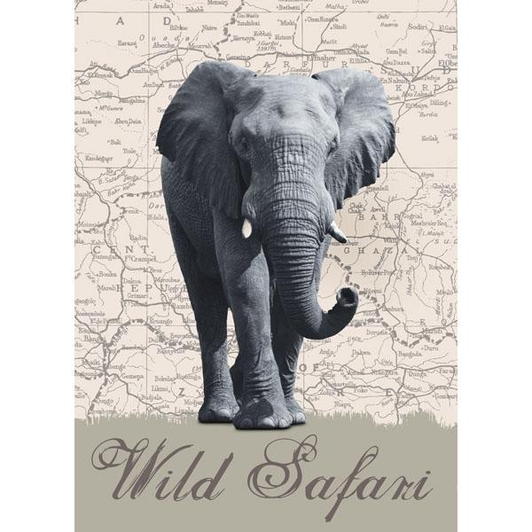 Ideal Décor Wild Safari Wall Mural
