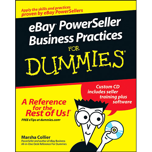 eBay PowerSeller Business Practices for Dummies [With CDROM]